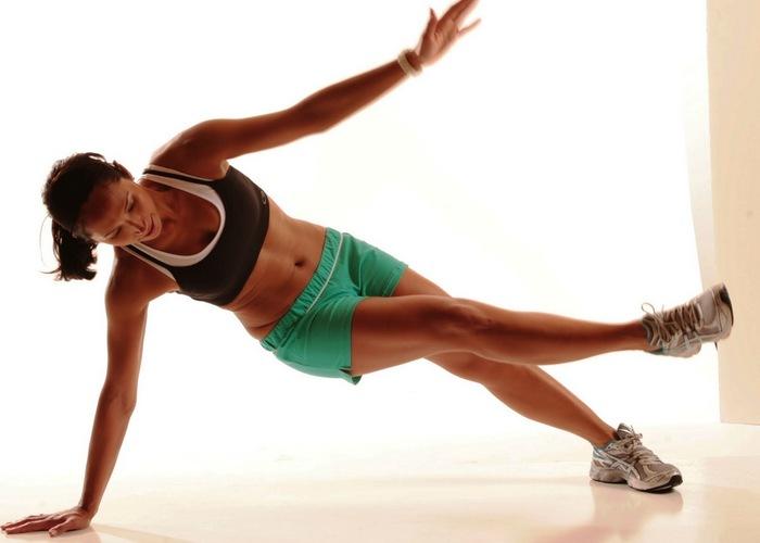 Упражнение для внутренней области бедра