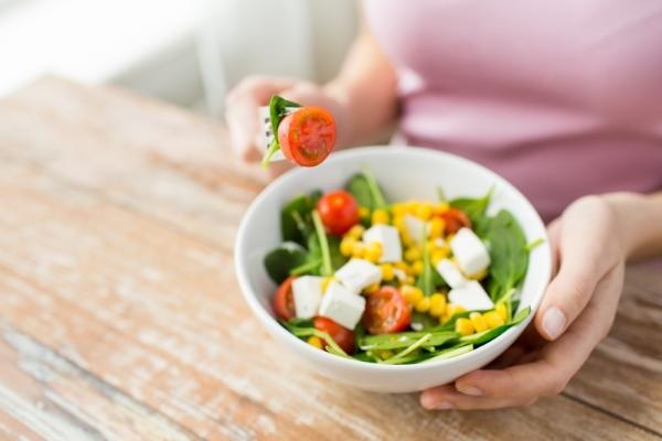 Правильное питание при похудении в лице