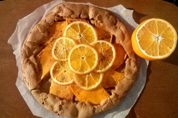Тыквенный пирог с апельсинами